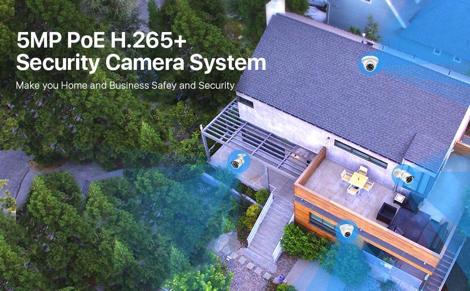5MP POE Security Camera