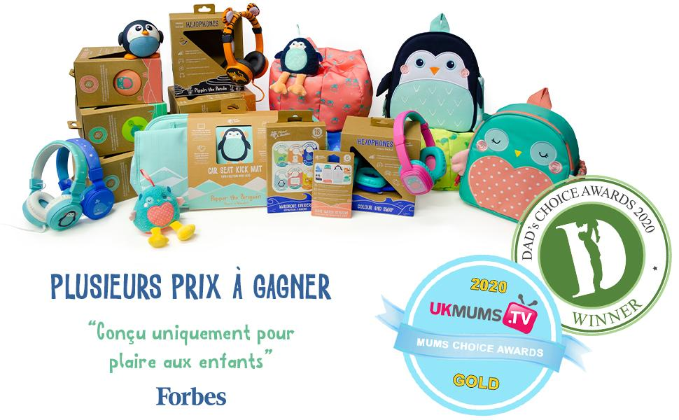 planet buddies, kids products, eco, kids headphones, headphones, speakers, award winning, forbes