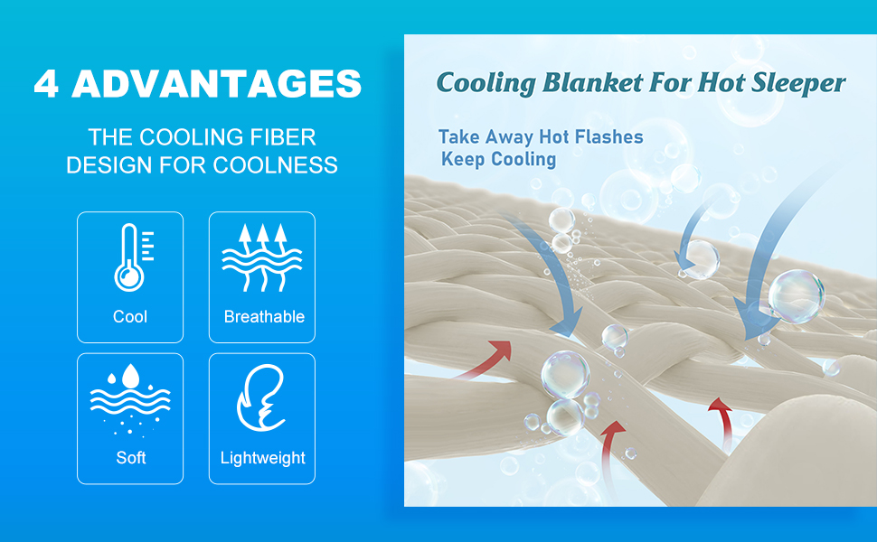 Cooling Blanket for Hot Sleepers
