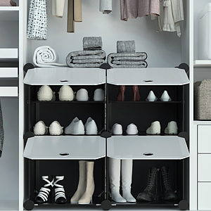 shoes racks for your wardrobe