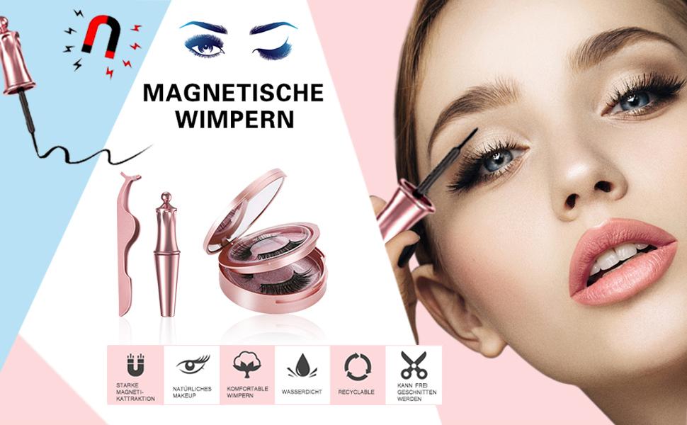 Magnetisch Wimpern