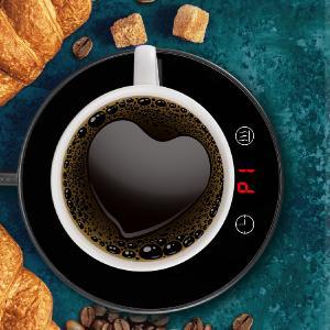 black coffee cup warmer