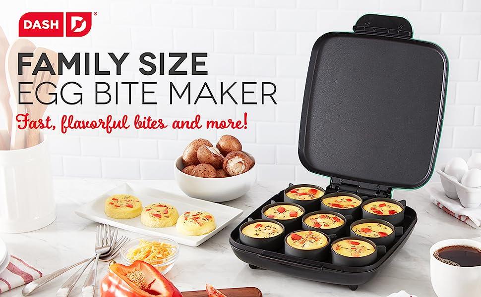 Egg Bite Maker, Breakfast, Egg Cups, Sous Vide, Griddle, 9 Egg Bites