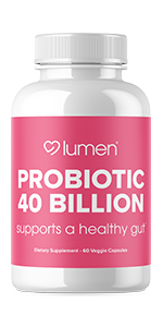 lumen naturals probiotic 40 billion for women