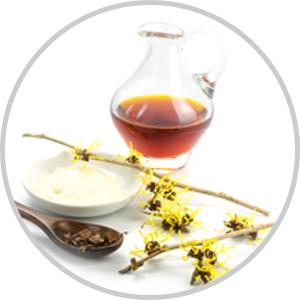 hazel extract - ingredient of vitamin c face serum