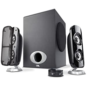 CA-3810 Cyber Acoustics 2.1 Powered Speaker System