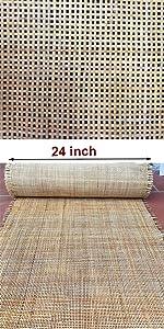 rattan cane webbing roll