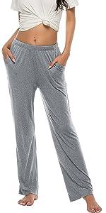 JINSHI Women's modal pyjama trousers
