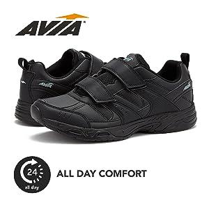 avia shoes men velcro