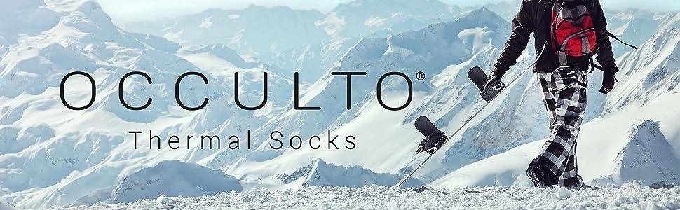 Header image for Occulto Skiing Socks for Men
