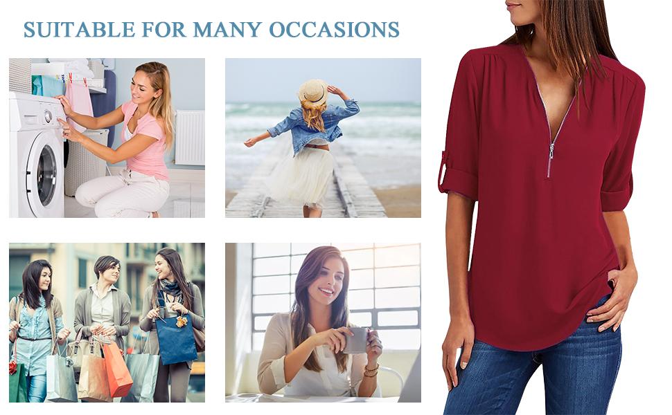 Blusas y Camisa Mujer