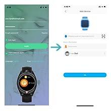 smart watch bind app