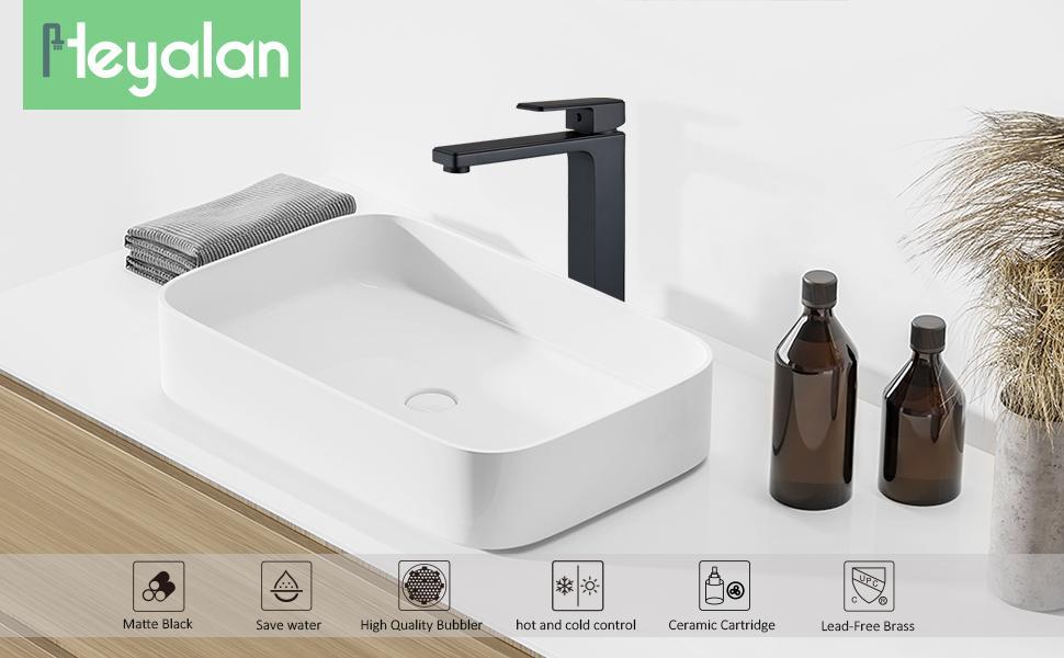 sink faucet matte black