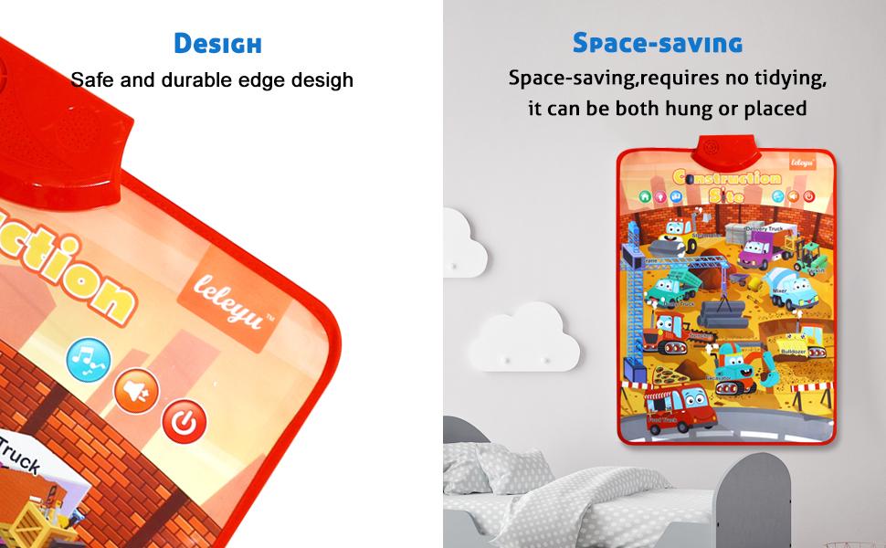 Safe and durable edge desigh,Space-saving