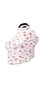 heart baby carseat cover