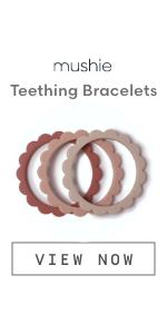 Mushie Bracelet Teethers