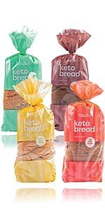 Keto Bread Golden Wheat / Cinnamon Raisin / Dark Wheat / Grain amp;amp;amp;amp;amp; Seed