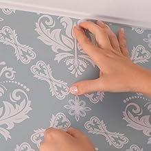 overlap peel and stick wallpaper