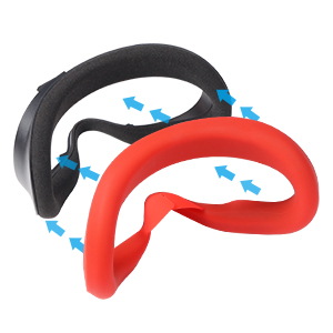 VR Silicone Face Cover
