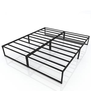 bedframes platform frame  metal size twins full no needed headboard included Easy Assembly