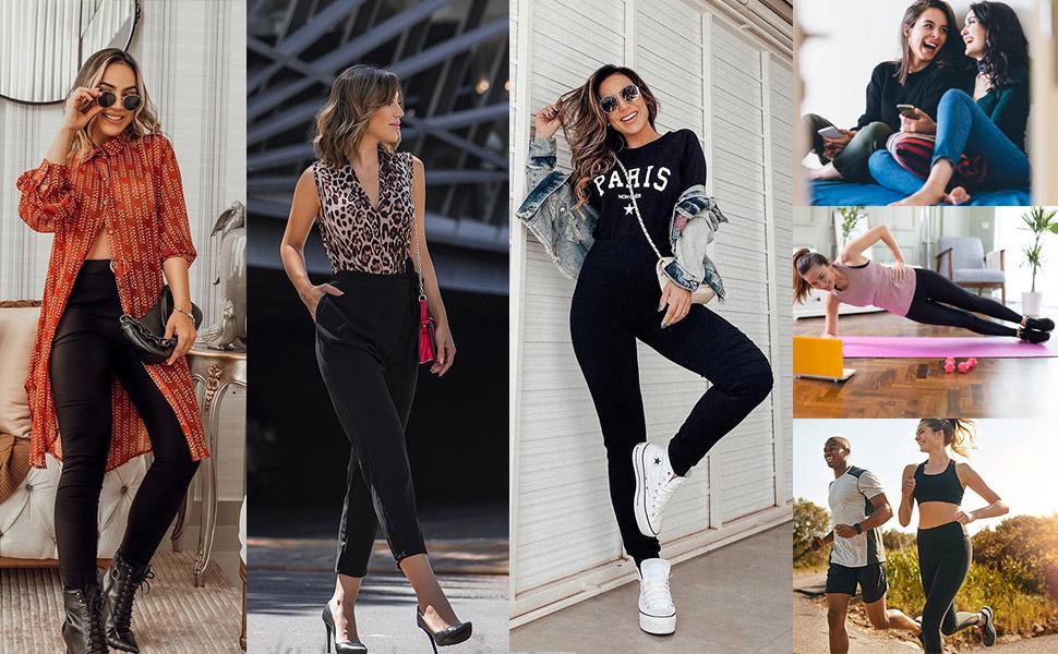Womens Joggers Nine-point Pants Yoga leggings