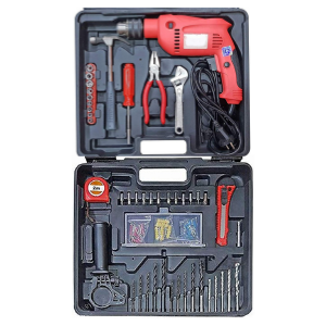 Powerful Drill Machine with Drill Tool Set 350W