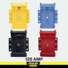 anderson connector covers for trailers trucks caravans 120 amp red blue black yellow