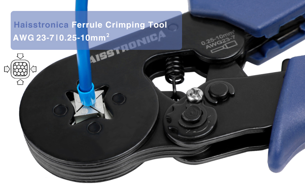 6-4 ferrule crimping tool