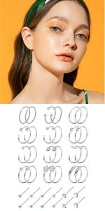 Nose Rings Hoop