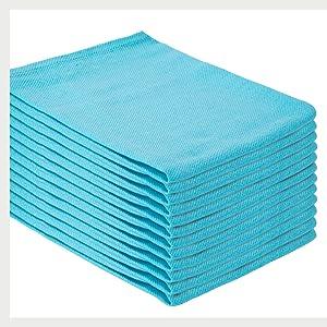 Black Cotton Napkins - Cotton Cloth Napkins - Dinner Linen Napkins - Charcoal Napkins