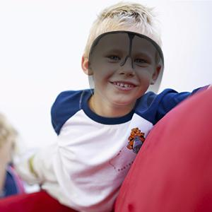 Face Shield Wearing Effect for Children