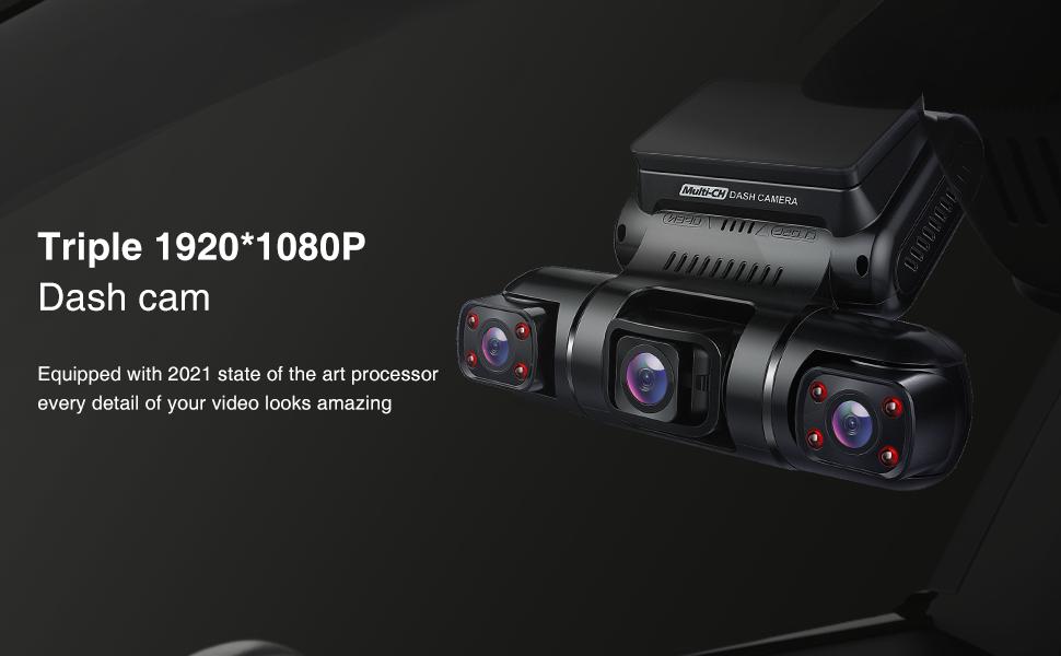 Pruveeo D90 Dash Cam