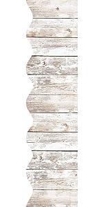 White Distressed Gray Wood Bulletin Board Borders