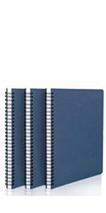 spiral kraft hardcover notebook