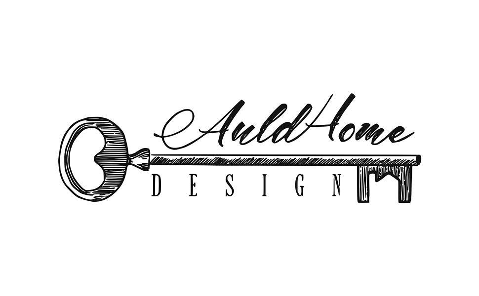 auldhome design logo banner