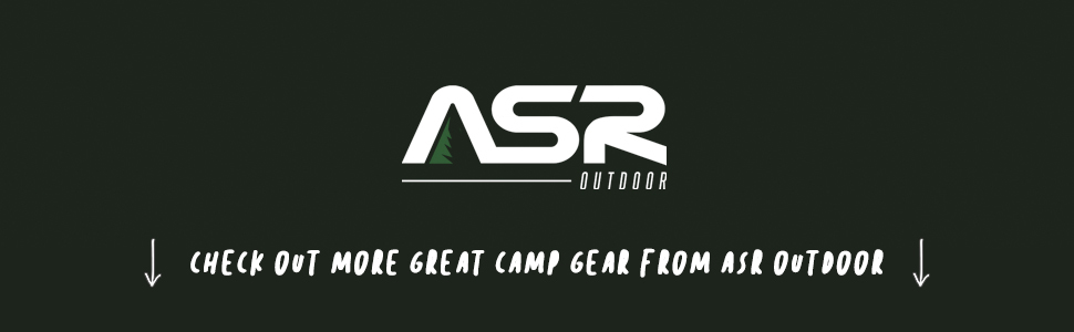 asr outdoor camp gear camping hiking gold panning backpacking adventure prepper supplies survival