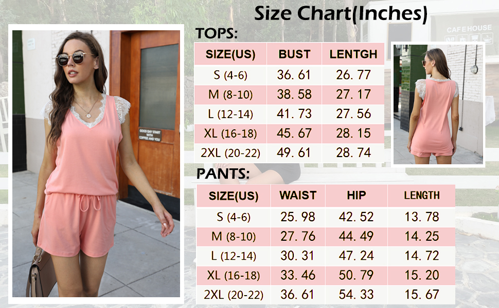 Two piece outfits for women summer