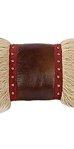 Ruidoso Mongolian Fur Accent Pillow
