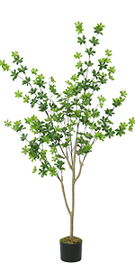 5ft artificial tree in pot potted artificial tree for home decor indoor tall