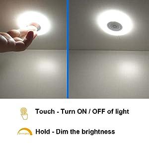 12V LED Puck light