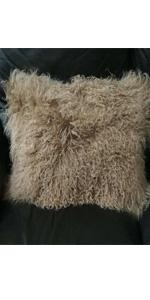 Mongolian Lamb Sheepskin Fur Rug