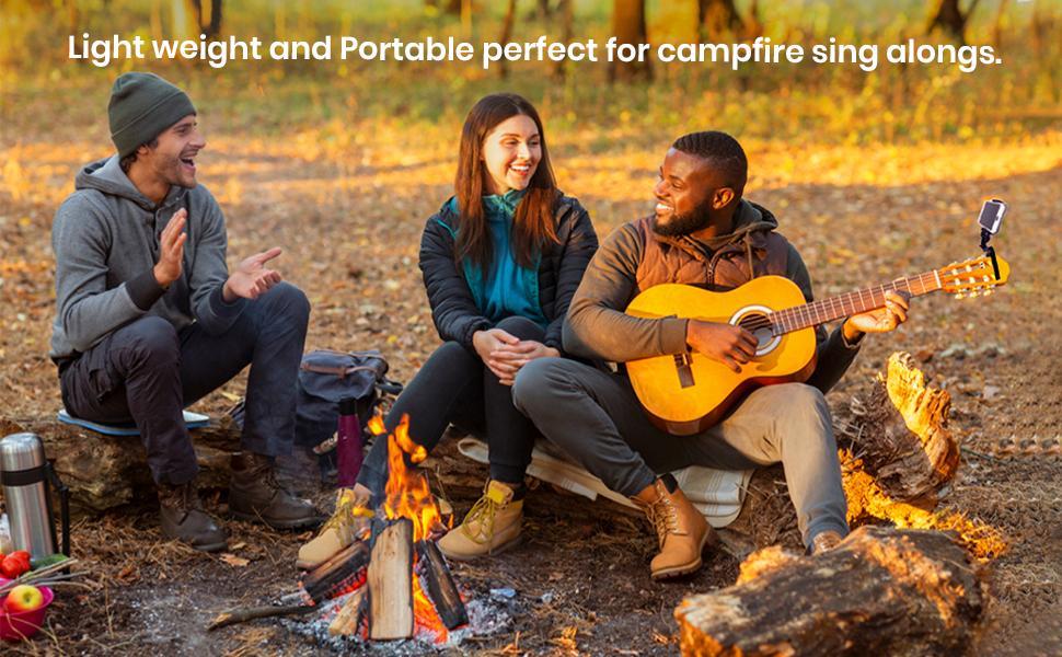 Smart-Po Campfire guitar smartphone capo guitar accessory phone clamp iPhone music accessory  jam
