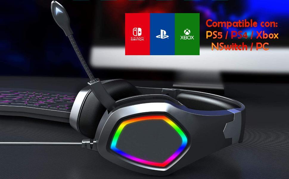 auricular gaming para ps5, auricular gaming para ps4, auriculares gaming ps4, ps5