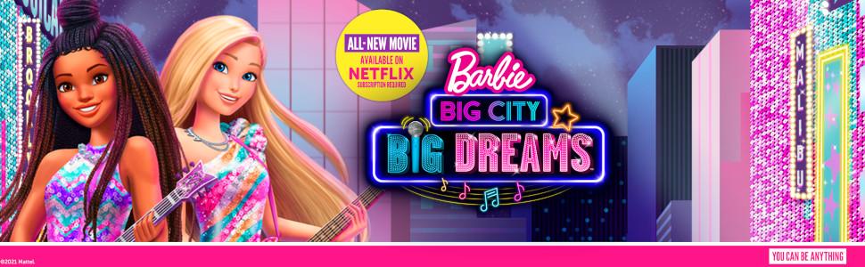Amazon Com Barbie Big City Big Dreams Singing Barbie Malibu Roberts Muneca 11 5 Pulgadas Rubia Con Musica Funcion De Iluminacion Microfono Y Accesorios Regalo Para Ninos De 3 A 7 Anos Juguetes Y Juegos