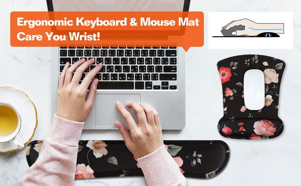 Keyboard amp; Mouse Mat Set