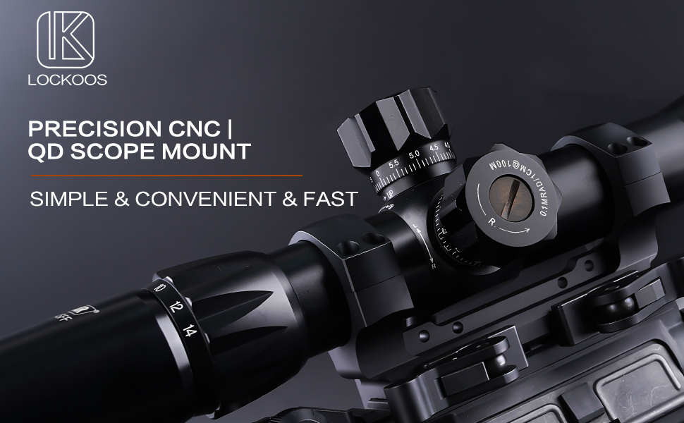 34mm scope mount QD