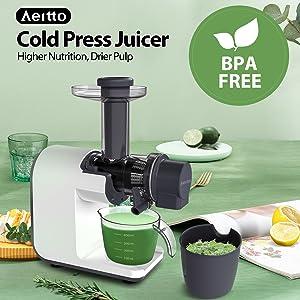 BPA FREE slow juicer