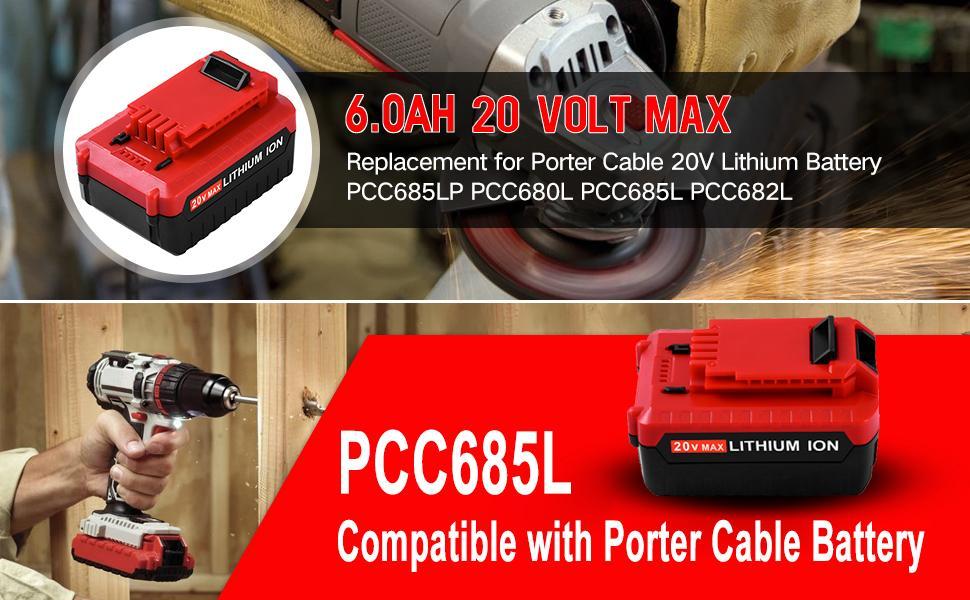 20v  battery for porter cable