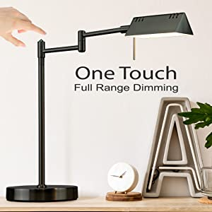 dimmable led desk lamps black standing lamp sofa side lamps for bedrooms reading lamp minimalist