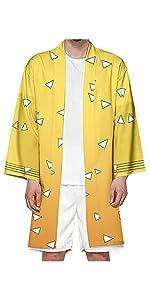 Agatsuma Zenitsu Kimono